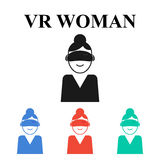 Réalité virtuelle illustration libre de droits