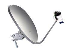 Récepteur d'antenne parabolique Images libres de droits