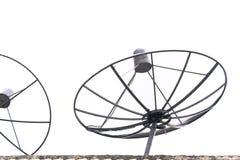 Récepteur d'antenne parabolique image libre de droits
