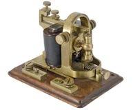 Récepteur de Morse Photographie stock