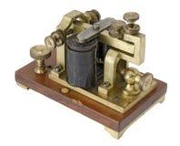 Récepteur de Morse Images stock