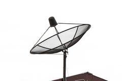 Récepteur de télévision par satellite Photos stock