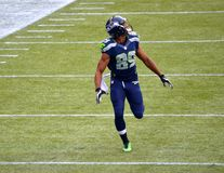 Récepteur large Doug Baldwin de Seattle Seahawks Photo stock
