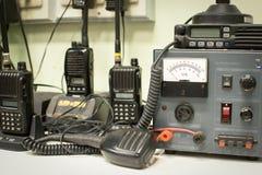 Récepteur militaire de communications Photos stock