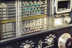 Récepteur radioélectrique d'AM Photographie stock libre de droits