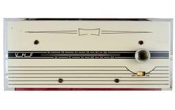 récepteur radioélectrique de VHF FM des années 1960 Photo stock