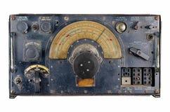 Récepteur radioélectrique des avions Ww2 Photo stock