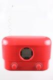 Récepteur radioélectrique rouge Photographie stock