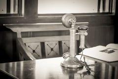 Récepteur téléphonique démodé Image libre de droits