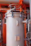 récepteurs d'air comprimé ou récipients Photo stock