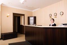 Réception d'hôtel Images libres de droits
