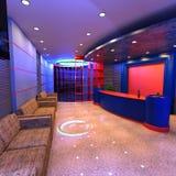 réception d'hôtel du rendu 3D Photo libre de droits