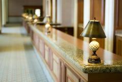 Réception d'hôtel Photo libre de droits