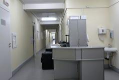 Réception dans l'hôpital photos libres de droits