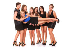 Réception de Bachelorette image stock