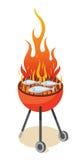 Réception de BBQ Image libre de droits