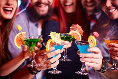 Réception de cocktail photo stock
