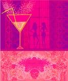 Réception de cocktail d'anniversaire Photo stock