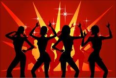 Réception de disco Image libre de droits
