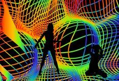 Réception de disco Image stock