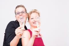 Réception de femmes Photographie stock libre de droits