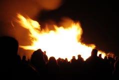 Réception de feu Images stock