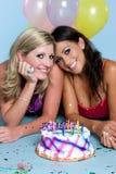 réception de filles d'anniversaire Images libres de droits