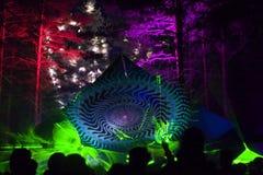 Réception de forêt Images libres de droits