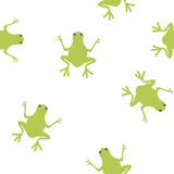 Réception de grenouille illustration libre de droits