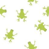Réception de grenouille Photos libres de droits
