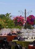 Réception de jardin Image libre de droits