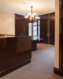 Réception de luxe vide hal Photo stock