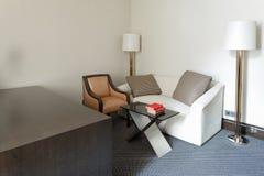 Réception de luxe vide hal Images libres de droits