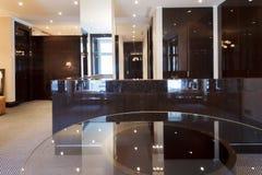 Réception de luxe vide hal Images stock