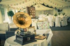 Réception de mariage de vintage Images libres de droits