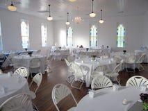 Réception de mariage Hall Photographie stock libre de droits