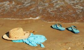 Réception de plage Photos libres de droits