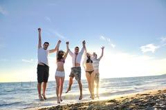 Réception de plage Images libres de droits