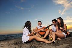 Réception de plage Photo libre de droits