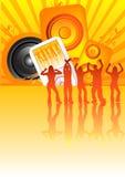 Réception de SoundBlast Photo libre de droits