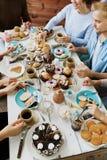 Réception de thé photo libre de droits