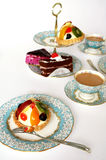 Réception de thé images libres de droits