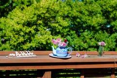 Réception de thé Photo stock