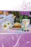 Réception de thé d'été Image stock