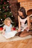 Réception des cadeaux Photo libre de droits