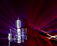 Réception des ondes sonores illustration stock