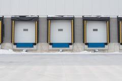 Réception des portes de dock Photographie stock