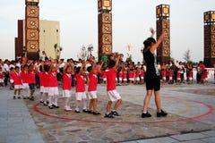 Réception du jour des enfants Images stock