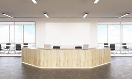 Réception en bois Image libre de droits