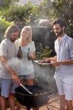 Réception en plein air de BBQ Image libre de droits